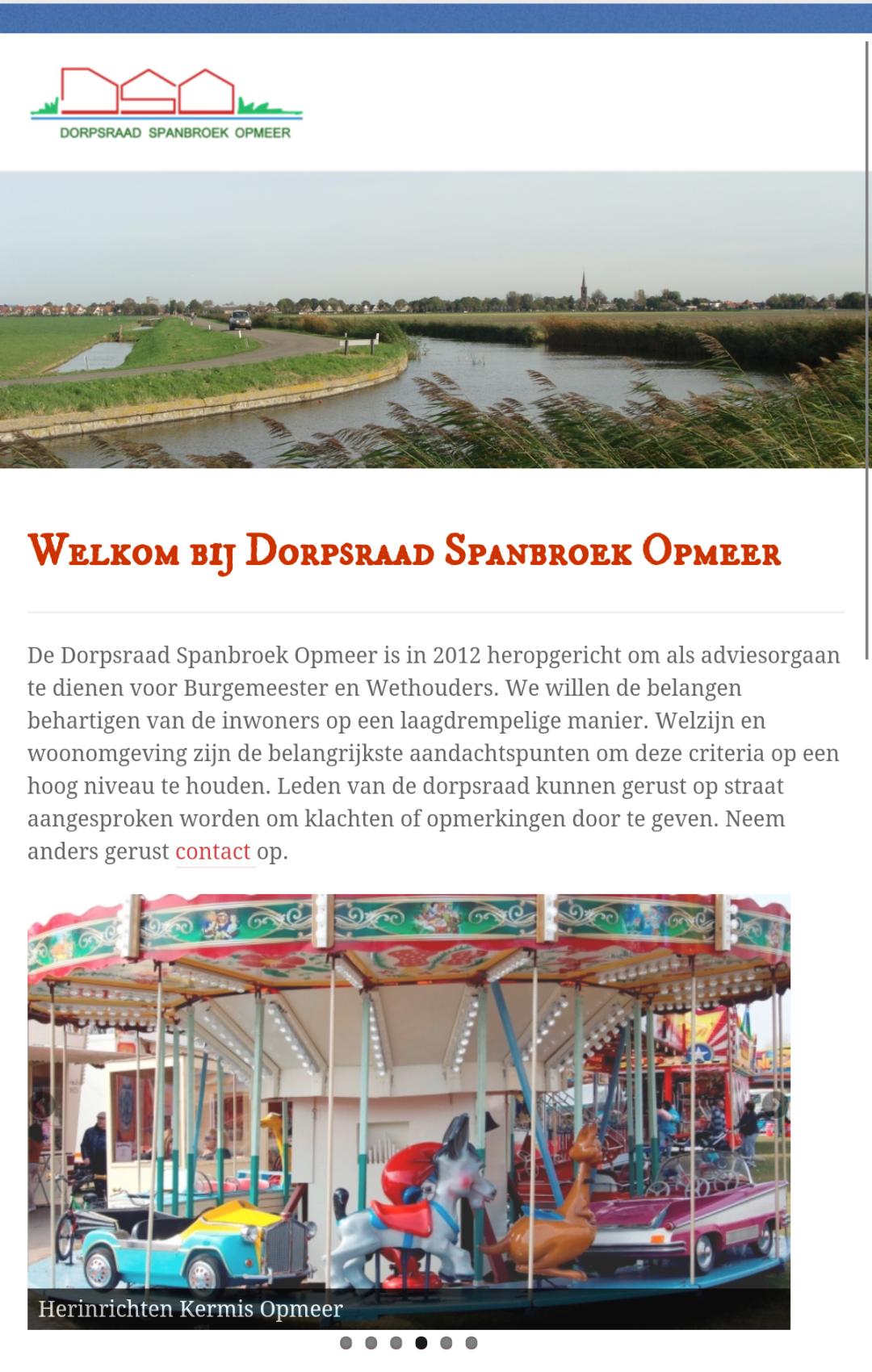Website voor DSO door CSD
